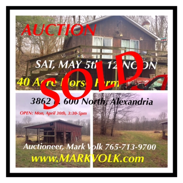 Mark Volk Realty Amp Auction Call Auctioneer Mark